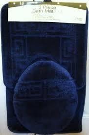 Kmart Blue Bath Rugs by Blue Bathroom Rug Sets Roselawnlutheran
