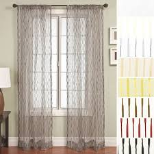 Crushed Voile Curtains Grommet by 96
