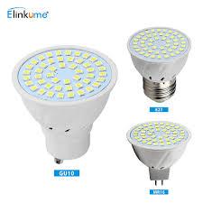 elinkume led spotlight e27 mr16 gu10 light bulb brightness cup