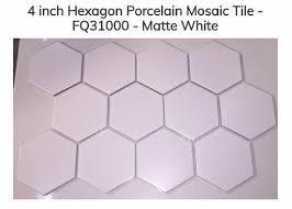 the most timeless bathroom floor tile 4 white hexagon