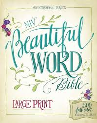 9780310446064 NIV Beautiful Word Bible Large Print Hardcover 500 Full