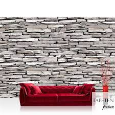 vlies fototapete no 424 steinwand tapete steinwand steine muster mauer grau grau