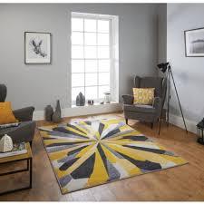 wohnraum teppiche teppichböden portland 3337 a grau gelb