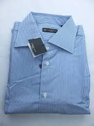 corneliani french cuffs dress shirt size 41 16 new with tags