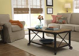 Better Homes And Gardens Rustic Country Coffee Table Antiqued Black Pine Finish Walmart