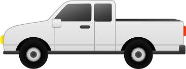 100 White Pick Up Truck Up Clip Art Free Clip Art For Clipart Free