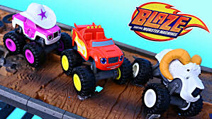 Blaze And The Monster Machines Recruit Starla Big Horn Race With ...