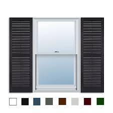 Amazoncom 15 Inch X 51 Inch Standard Louver Exterior Vinyl Window