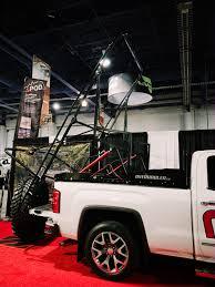Overhauler Is A Truck Rack That Can Work As A Mini Crane