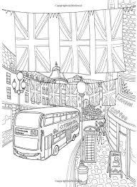Coloring Europe Charming London Il Sun Lee 9781626923904 Amazon SheetsAdult
