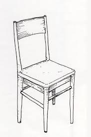 une chaise le blogue des 100 dessins une chaise