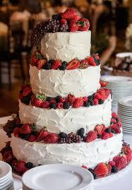 Rustic Buttercream Wedding Cake Deerpearlflowers