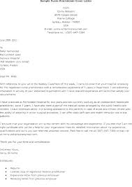 Cover Letter Example For Nurses New Graduate Nurse Resume Examples