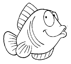 Tuna Fish Coloring Page 2 Pages For