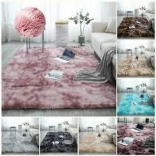 details zu plüsch teppich wohnzimmer kunstfell weich schlafzimmer matte teppich home deko