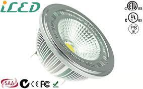 6000k cool white 12 volt 10w ar111 led spotlight bulb g53 base