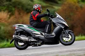 Test 2014 Kawasaki J300 Motorscooter