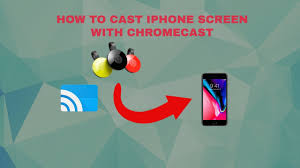 HOW TO SCREEN MIRROR YOUR IPHONE SCREEN ON CHROMECAST