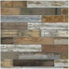 tiles marazzi montagna wood vintage chic 6 in x 24 in porcelain