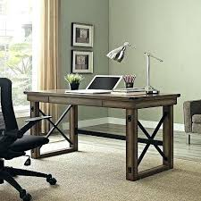 Industrial Style Office Chair Rustic Desk Dining Table Modern Mid Wood Furniture Metal Laptop Retro Home