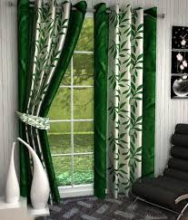 curtains awesome floral eyelet curtains homefab india set of 4