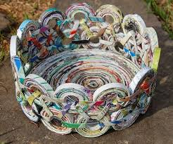 25 Best Ideas About Newspaper Crafts On Pinterest