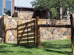 Cedar Post Ranch Fences