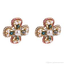 100 Where Is Dhgate Located 2019 Cross Stud Earrings For Women Luxury Boho Personality Imitation