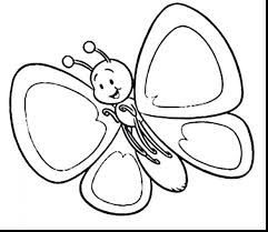 Butterfly Coloring Pages For Preschoolers Free Great Kids Butterflies Cycle Printable