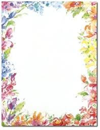 Paper Borders With Border Designs Flowers Design