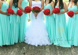 Stunning Blue Green Wedding Colors Pictures