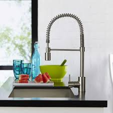 Consumer Reports Kitchen Faucets 2013 by Hansgrohe Cento Kitchen Faucet In Steel Optik U0026 Chrome Finish