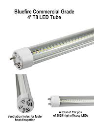 T12 4 Lamp Fluorescent Ballast by T8 Tubes Bluefire Lighting Corp
