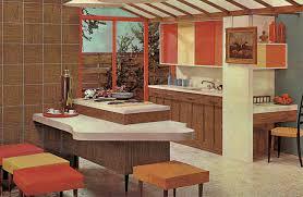 Small Kitchen Renovation Mid Century Modern Example