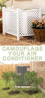 Like The Idea Of Adding Containers On Each Side Air Conditioner Hide Your 17 Impressive Curb Appeal Ideas Cheap And Easy