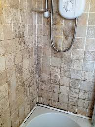 removing mould from travertine bathroom tiles cleaning and