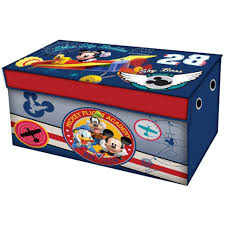 Minnie Mouse Flip Open Sofa Bed by Disney Mickey Mouse Room In A Box With Bonus Toy Bin Walmart Com