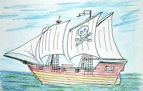 100 Design A Pirate Ship 80 Fundamental How To Draw Simple