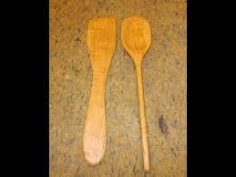 make wooden kitchen utensils youtube