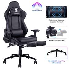 Amazon.com: KILLABEE Big And Tall 350lb Massage Gaming Chair Metal ... 12 Best Gaming Chairs 2018 The Ultimate Guide Gamecrate Which Is Chair For Xbox One In 2017 Banner Fresh 1053 Virtual Reality Video Singapore Based Startup Secretlab Launches New Throne V2 And Omega 9d Vr Egg Cinema Machine Manufacturer Skyfun Best Chairs Ever Maxnomic By Needforseat Playseat Air Force All Your Racing Needs Gaming Chair Top 10 In For Pc Gaming Chairs 2019 Techradar Msi Mag Ch110 Stay Unlimited Beyond Reality Chair Maker Has Something Neue For The Office Cnet