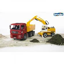BRUDER 1/16 MAN TGA CONSTRUCTION TRUCK WITH LIEBHERR EXCAVATOR ... Authentic Bruder Toys Man Telecrane Tc 4500 Crane Truck New In Box Kavanaghs Bruder Mercedes Benz Arocs Crane Truck With Lights Yellow With 360degree Swiveling 02754 Cstruction Tga Castle 02769 Forestry Timber With Loading Amazoncom Man And 3 2 Mack Granite Liebherr Games Truck Franc Jeu Rosemere News 2017 Unboxing Dump Garbage Crane Tgs By Fundamentally
