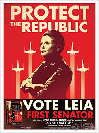 Leias Past Haunts Her In New Star Wars Bloodline Posters