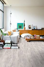 Industrial Living Room With A Quick Step Impressive Laminate Floor IM1861 Concrete Wood Light Grey