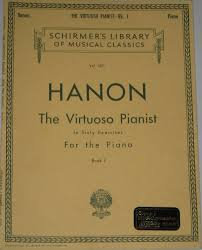 Hanon The Virtuoso Pianist In Sixty Exercises For Piano Book 1 Vol 1071 Schirmers Library Of Musical Classics