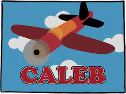 Airplane Door Mat Personalized