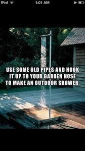DIY Pallet Outside Shower