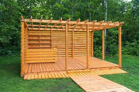 Wood Deck Ideas This Wooden Pallet Outdoor Furniture