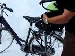 siège bébé vélo hamax comment installer sur un vélo un siège enfant arrière gmg