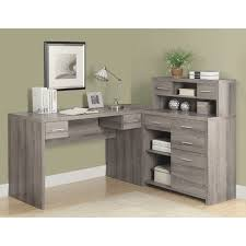 Walmart L Shaped Desk With Hutch by Marvelous Office Desk L Shape Monarch Hollow Core L Shaped Home