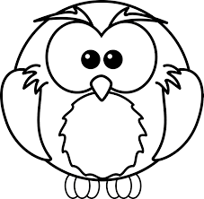 Owl Coloring Page Free Printable Pages For Kids Images